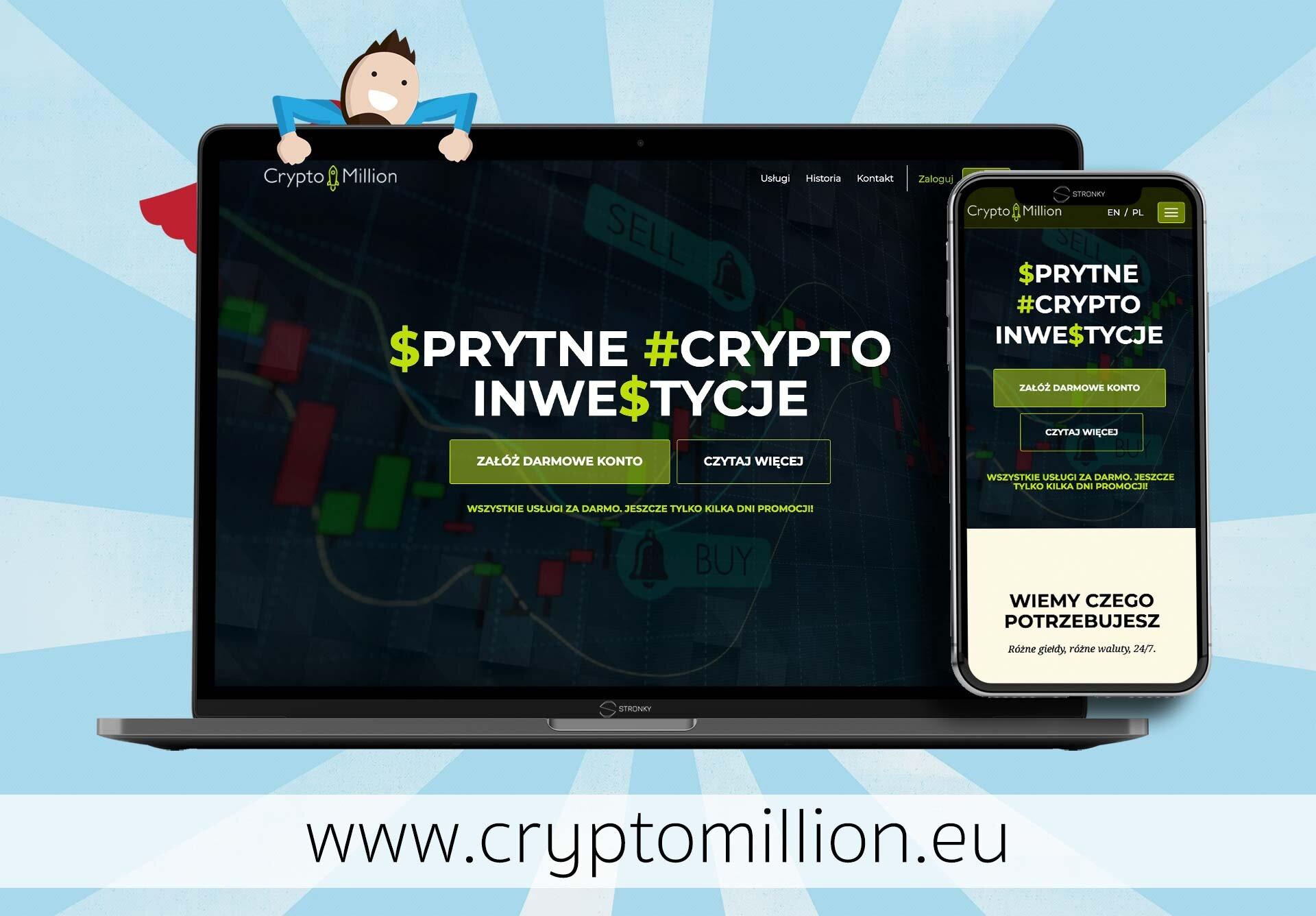 Crypto Million - screen