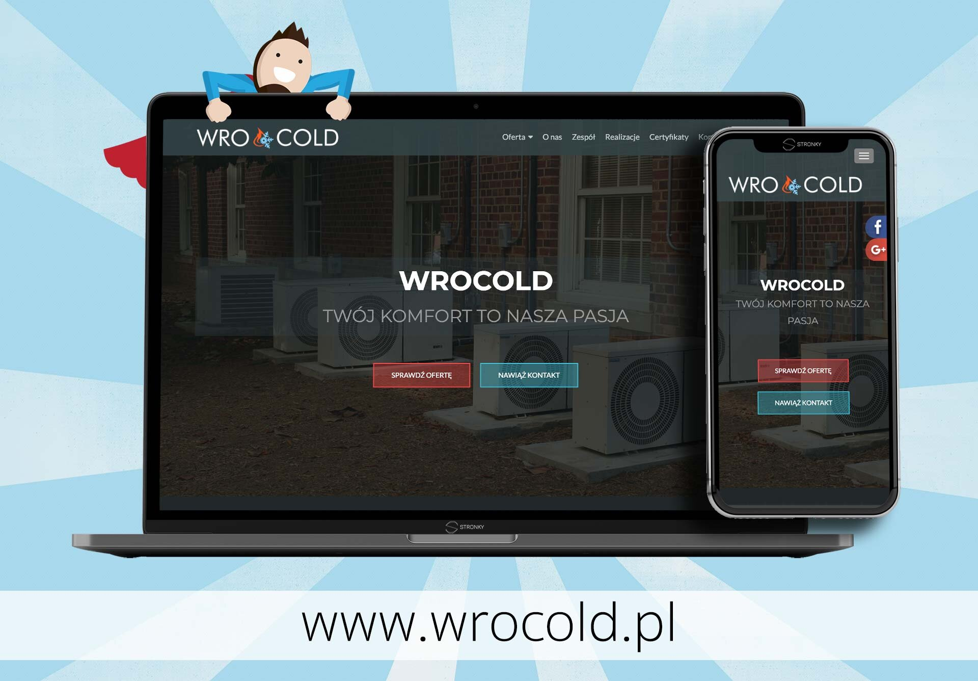 WroCold - screen