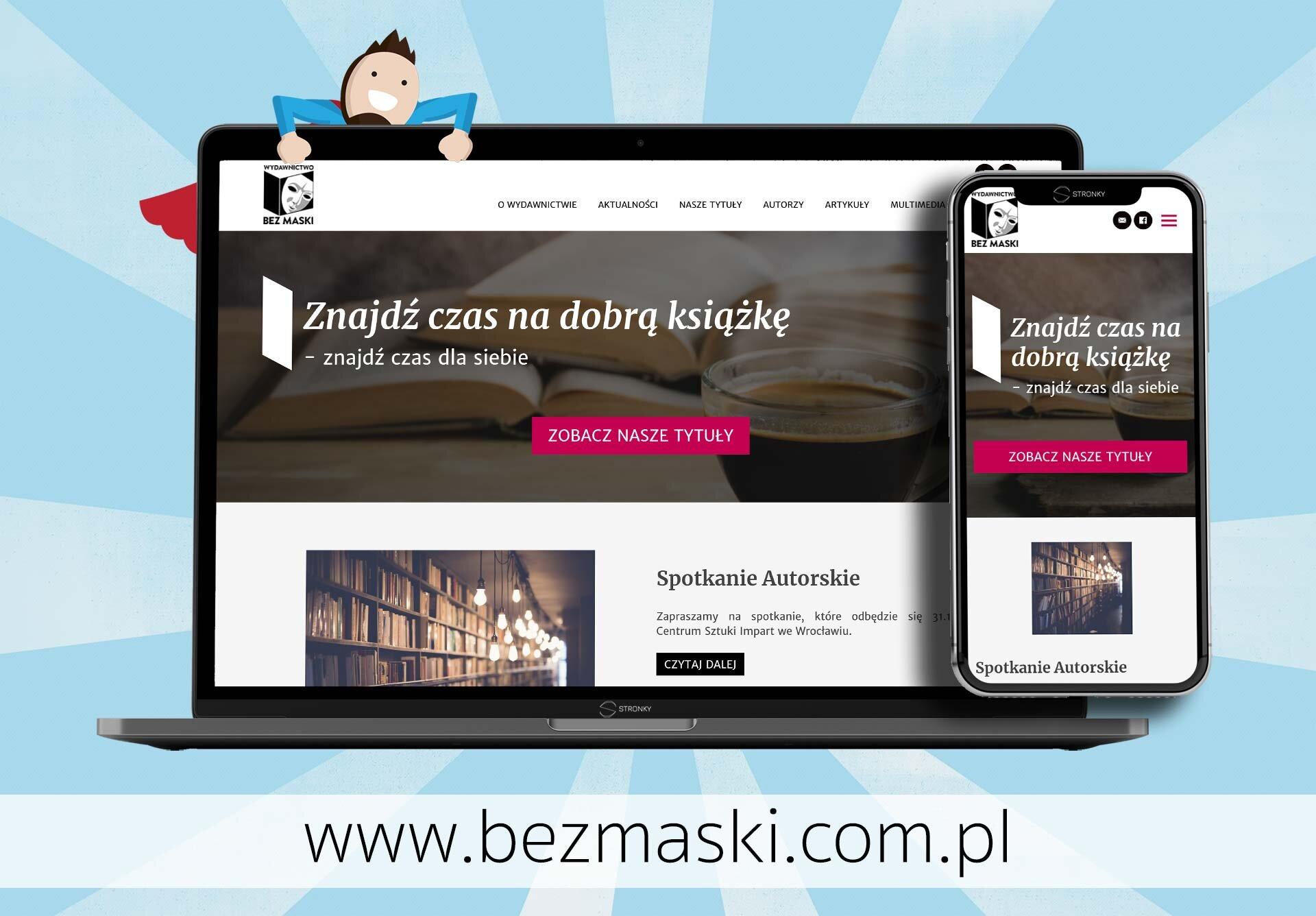 Wydawnictwo Bez Maski - screen