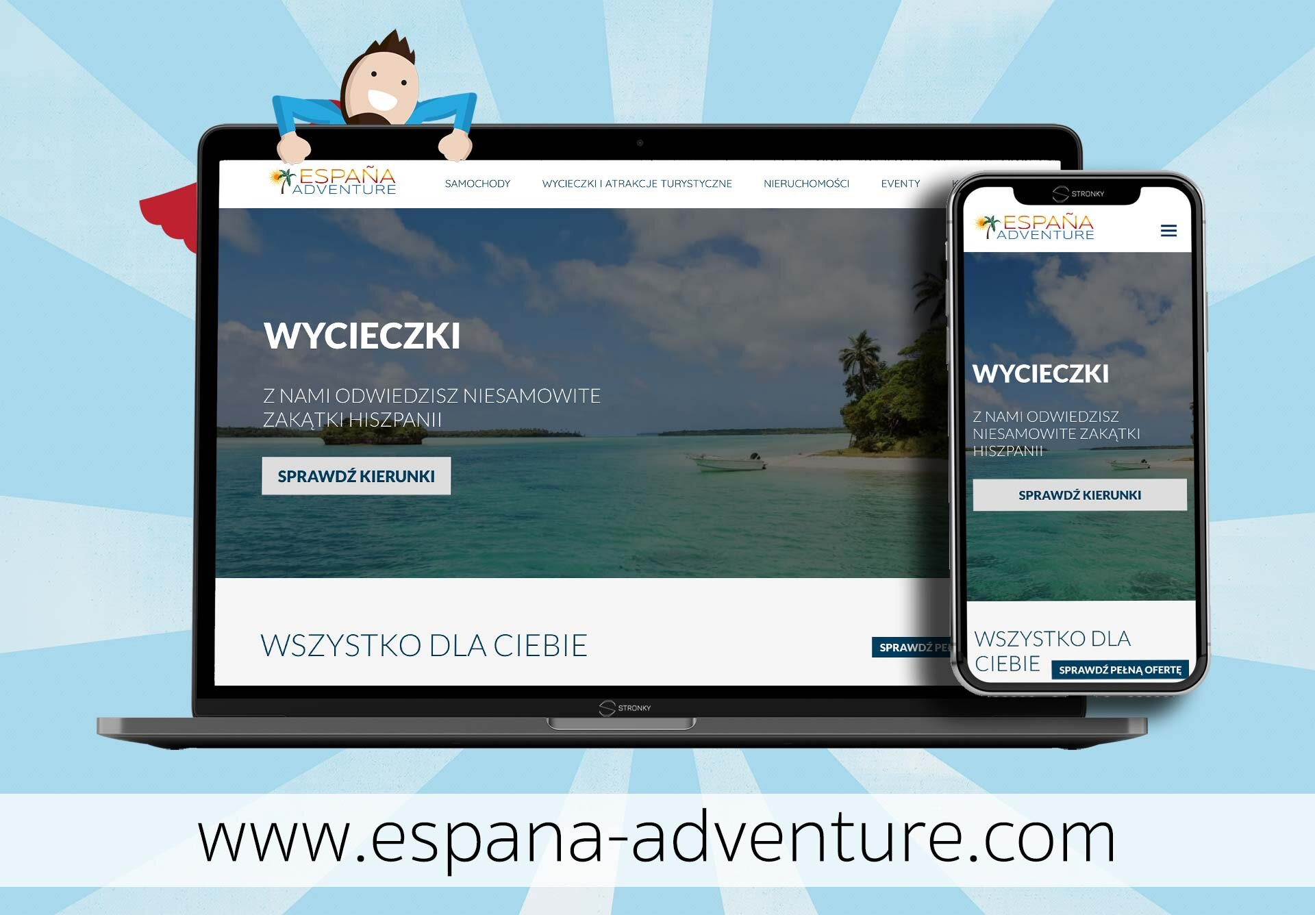 Espana Adventure - screen