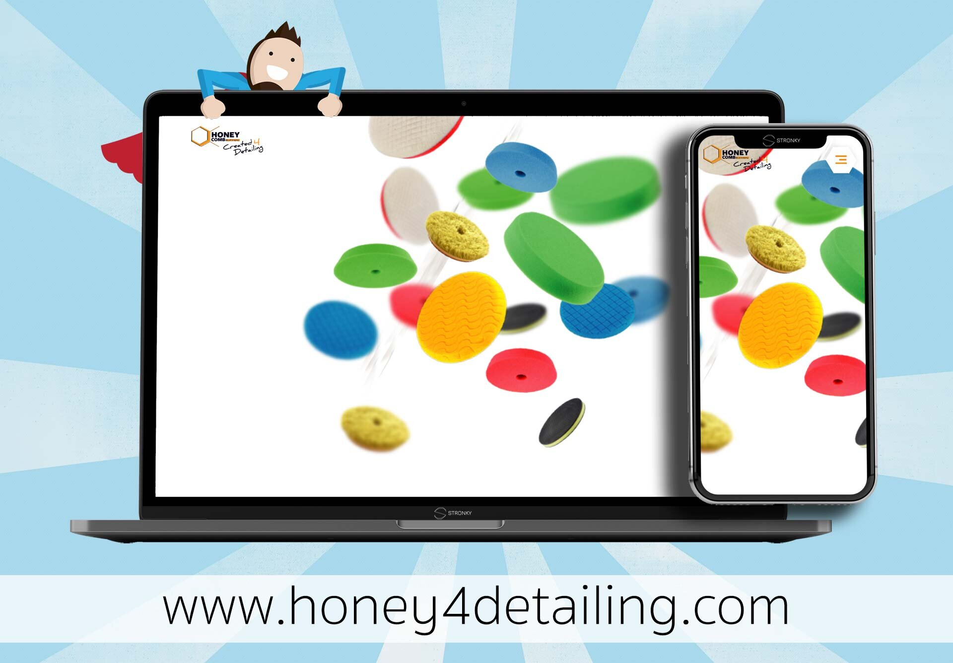 Honey 4 Detailing - screen