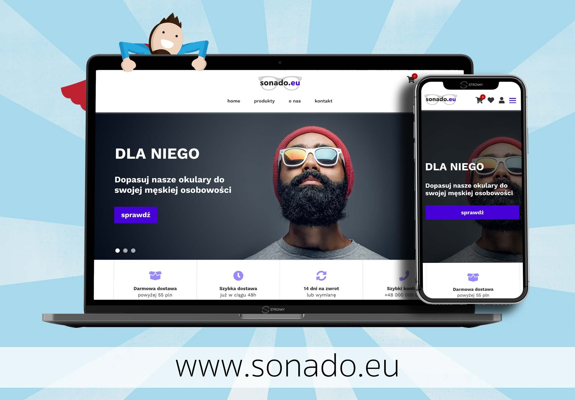 Sonado.eu - screen