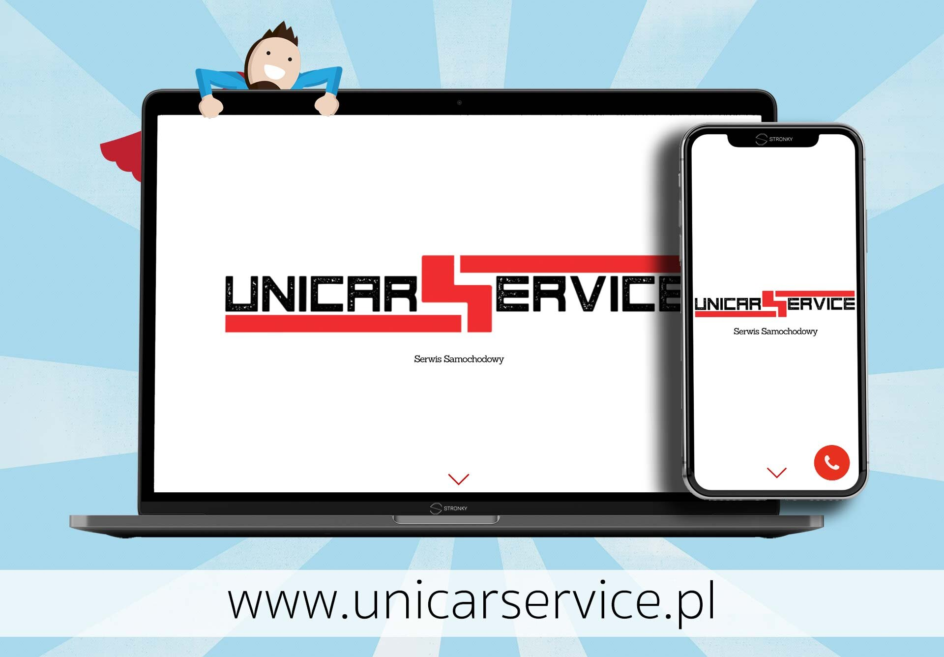 Unicar Service - screen